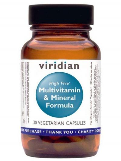 HIGH FIVE Комплекс Витамини и Минерали– 30 капсули