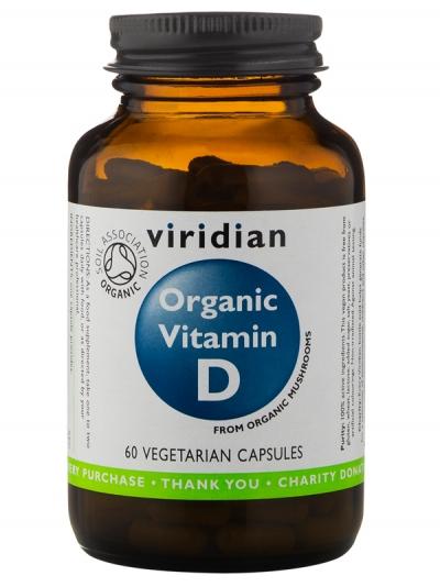 Органичен витамин D 400 IU – 60 капсули