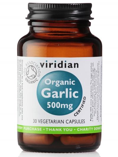 Органичен чесън 500mg - 30 капсули