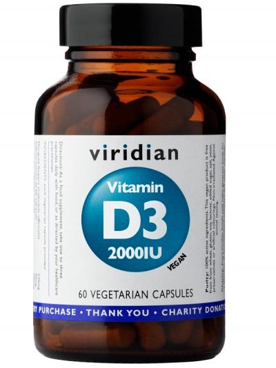 Витамин D3 (Веган) 2000IU - 60 капсули