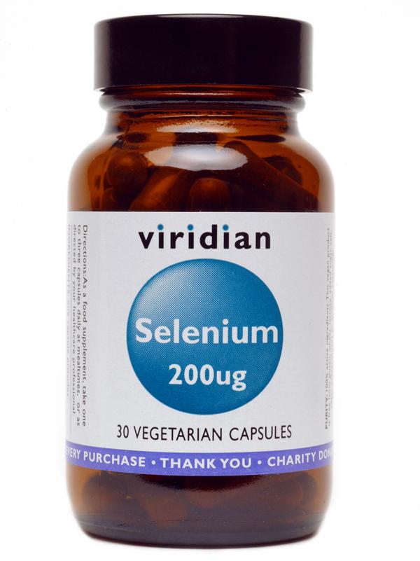 Селен (L-селенметионин) 200mcg 30/90 капсули
