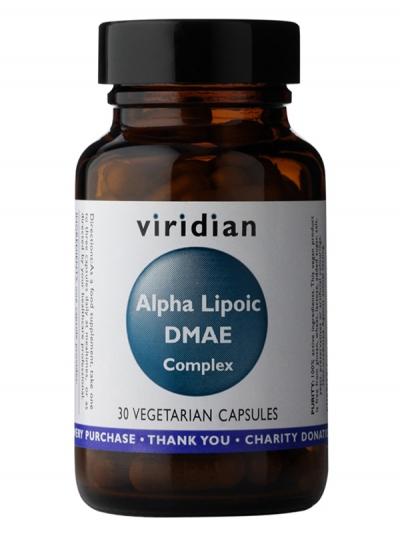 Алфа-липоева киселина с ДМАЕ и Витамин С - 30 вегетариански капсули