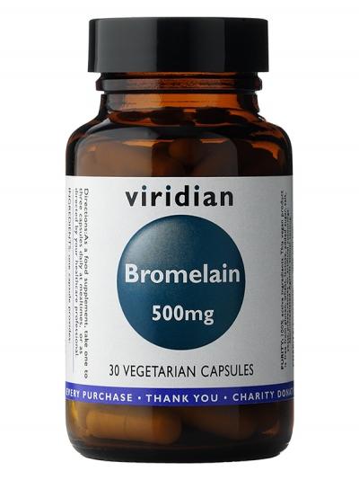 Бромелаин 500мг  – 30 капсули