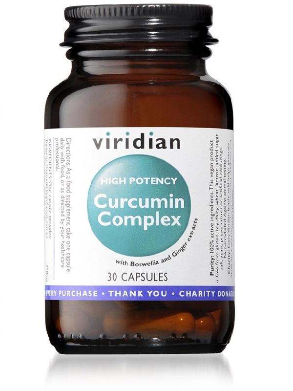 Високо потенциран Куркумин комплекс с Босвелия, Джинджифил и Биофлавоноиди – 30 капсули