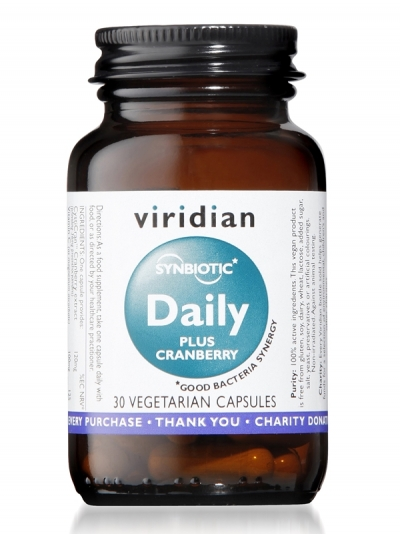 Дневен синбиотик плюс червена боровинка – 30 капсули