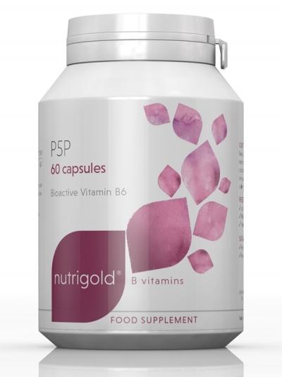 Витамин В6 P5P (Пиридоксал-5-Фосфат) 20 мг – 60 капсули
