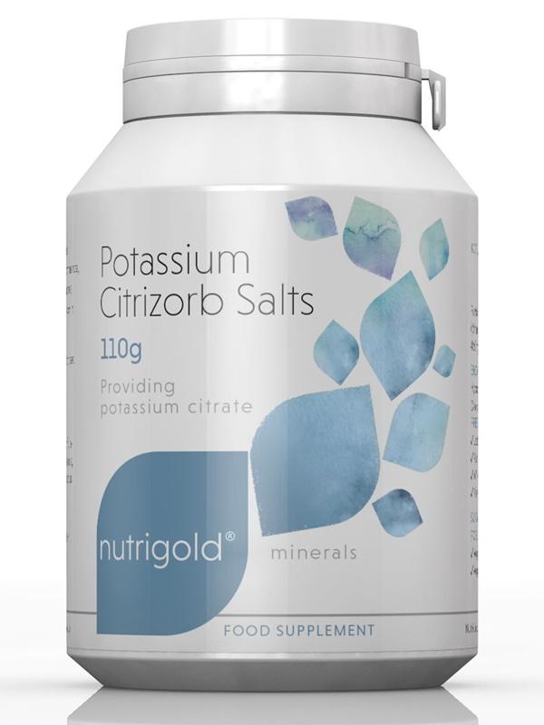 Калиеви соли (калиев цитрат) 110 гр