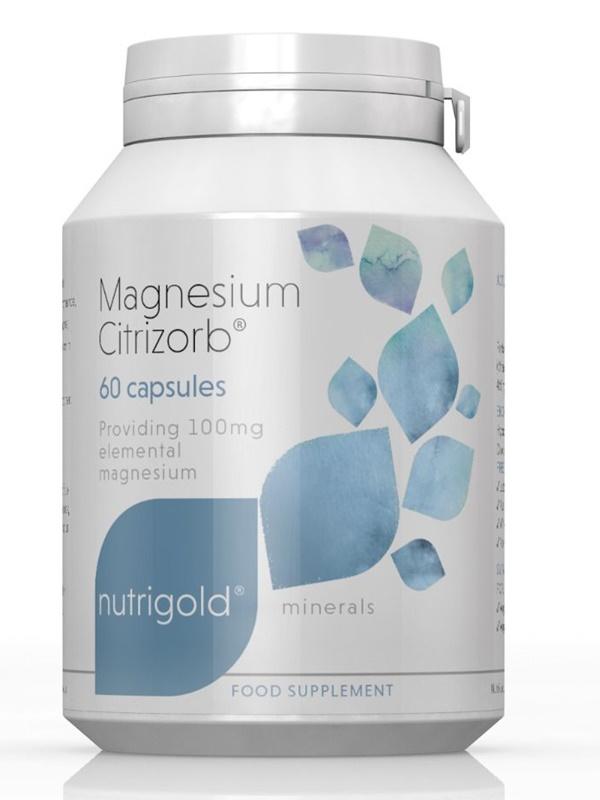 Магнезий (магнезиев цитрат) – 100мг 60 капсули
