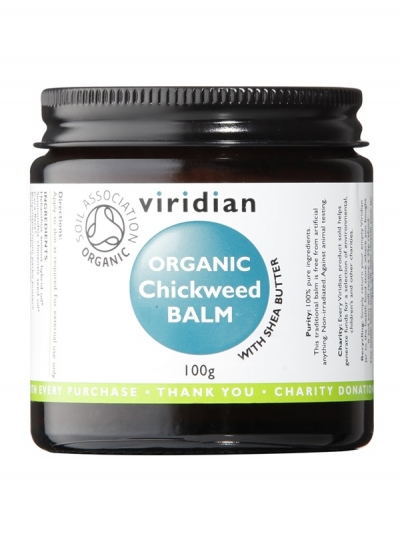 Органичен  балм от  Звездица (Chickweed) с масло от ший – 100 гр.