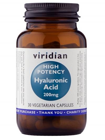 Хиалуронова киселина 200 мг (високо потенцирана) - 30 капсули
