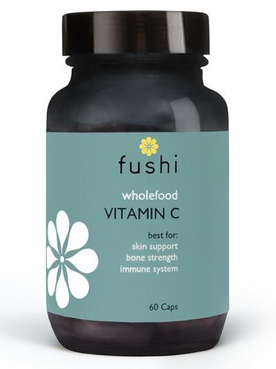 Витамин С с биофлавоноиди (Wholefood) - 60 капсули