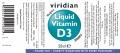 Витамин D3 2000 IU капки - 50мл