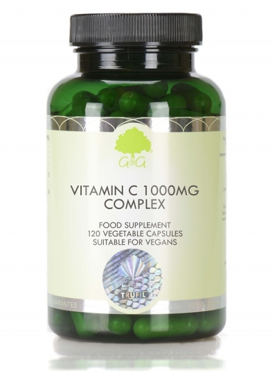 G&G Витамин C комплекс  1000 мг с Ацерола и Шипка  - 120 капсули