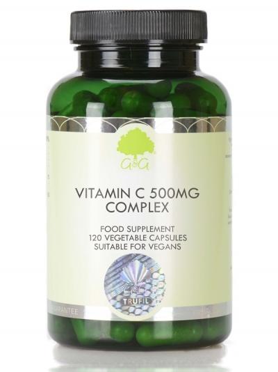 G&G Витамин C комплекс  500 мг с Ацерола и Шипка  - 120 капсули